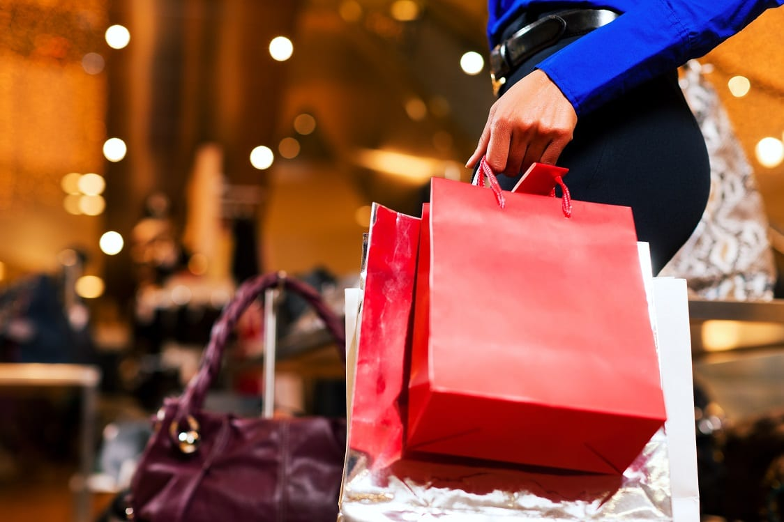 Christmas shopping In Dublin