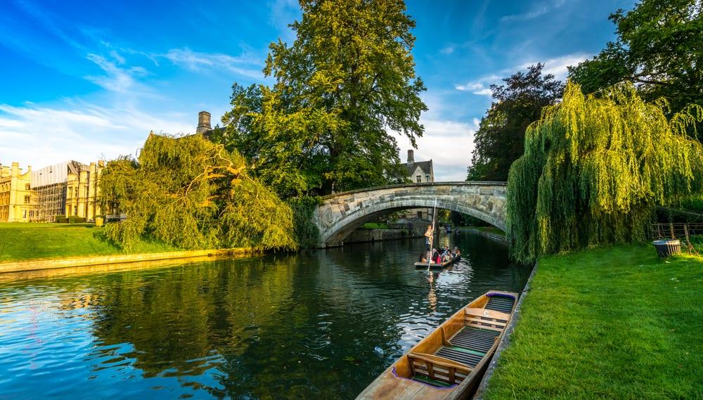 walk along the River Cam