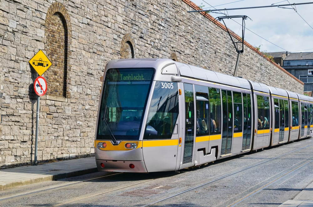 Trams in dublin