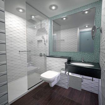 The Eliott Hotel Gibraltar Bathroom