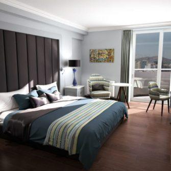 The Eliott Hotel Gibraltar Bedroom