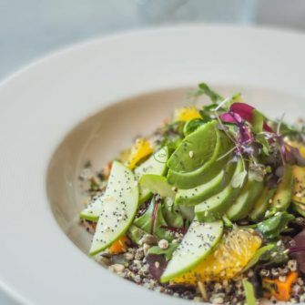 Couscous and Avocado Salad at The Green Hotel Dublin