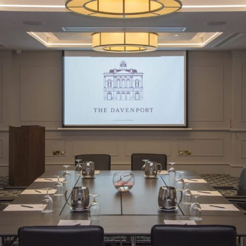 Davenport Hotel Meetings Room