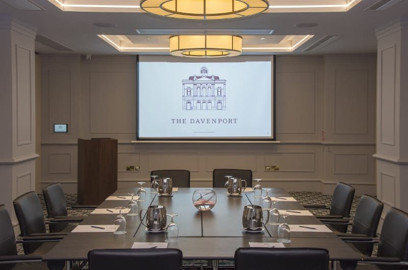 Davenport Hotel Meetings Room