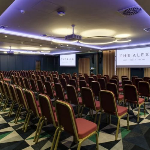 Event seating at our Dublin hotels