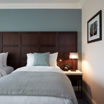 Tamburlaine Hotel Cambridge Twin Bedroom