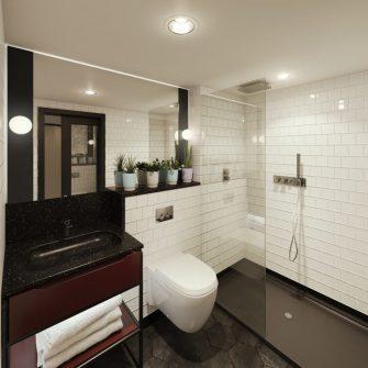 The Mont Hotel Dublin Executive Bathroom