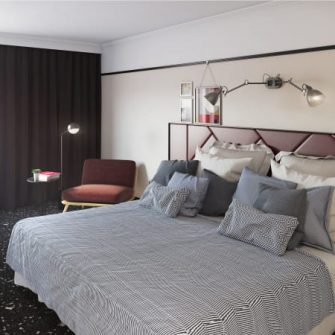The Mont Hotel Dublin Executive Bedroom
