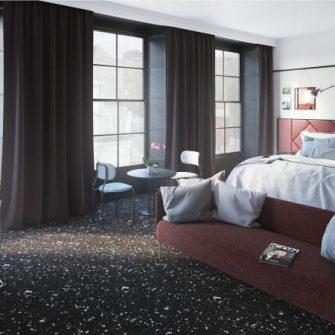 The Mont Hotel Dublin Suite Bedroom