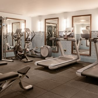 The Green Hotel Gym