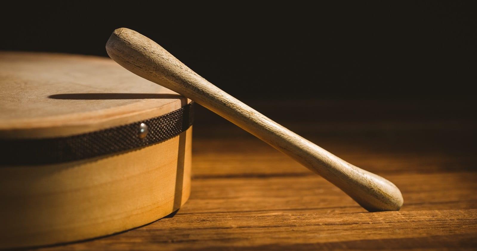 Traditional Irish Music Instrument, The Bodhran