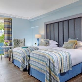twin room in the eliott hotel gibraltar